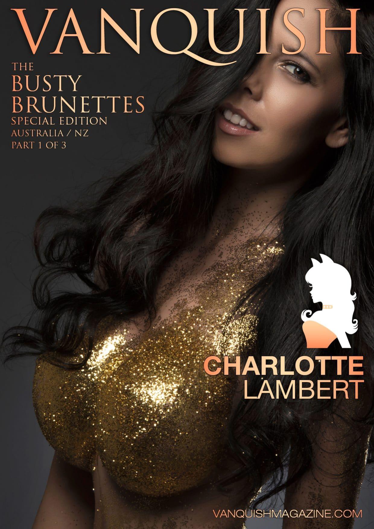 Busty Brunettes Charlotte Lambert 1