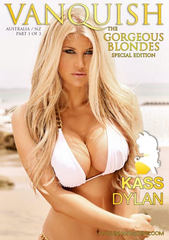 Vanquish Magazine - Gorgeous Blondes - Kass Dylan 3
