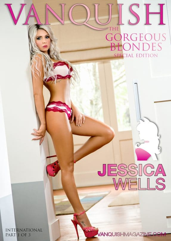 Vanquish Magazine - Gorgeous Blondes - Jessica Wells 1