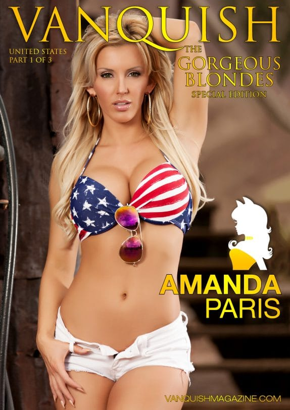 Vanquish Magazine - Gorgeous Blondes - Amanda Paris 1