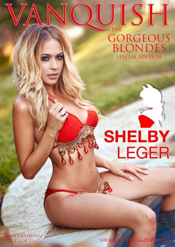 Vanquish Magazine - Gorgeous Blondes - Shelby Leger 1