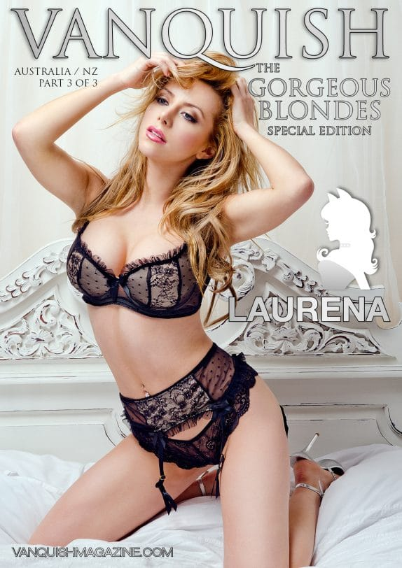 Vanquish Magazine - Gorgeous Blondes - Laurena 3