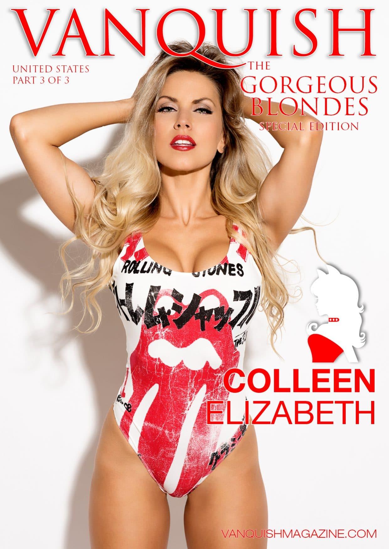Vanquish Magazine - Gorgeous Blondes - Colleen Elizabeth 1