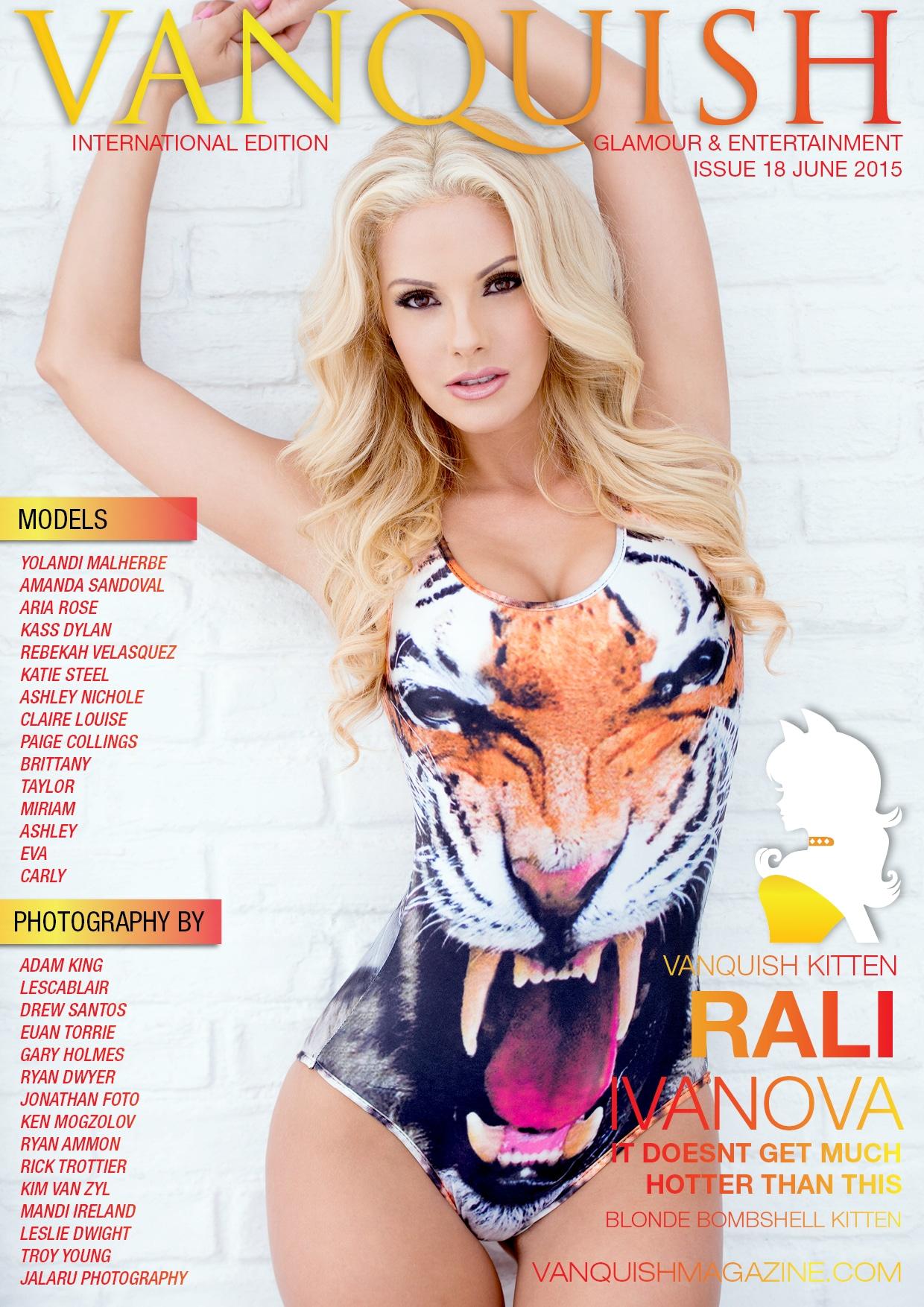 Vanquish Magazine – June 2015 – Rali Ivanova