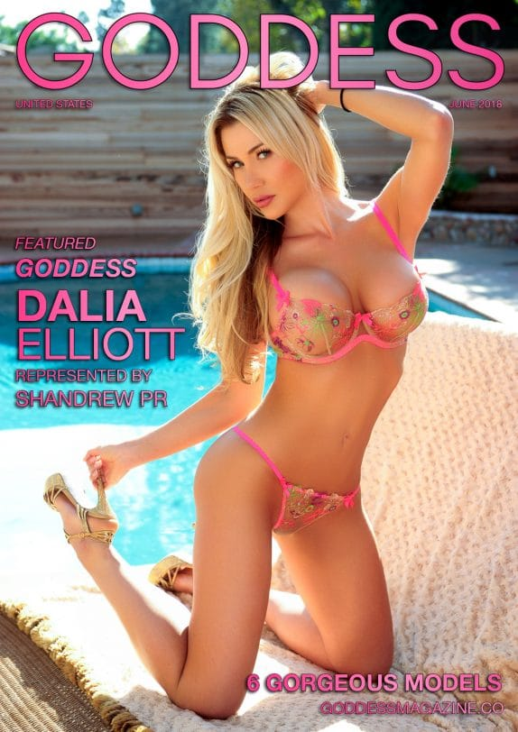Goddess Magazine – June 2018 – Dalia Elliott