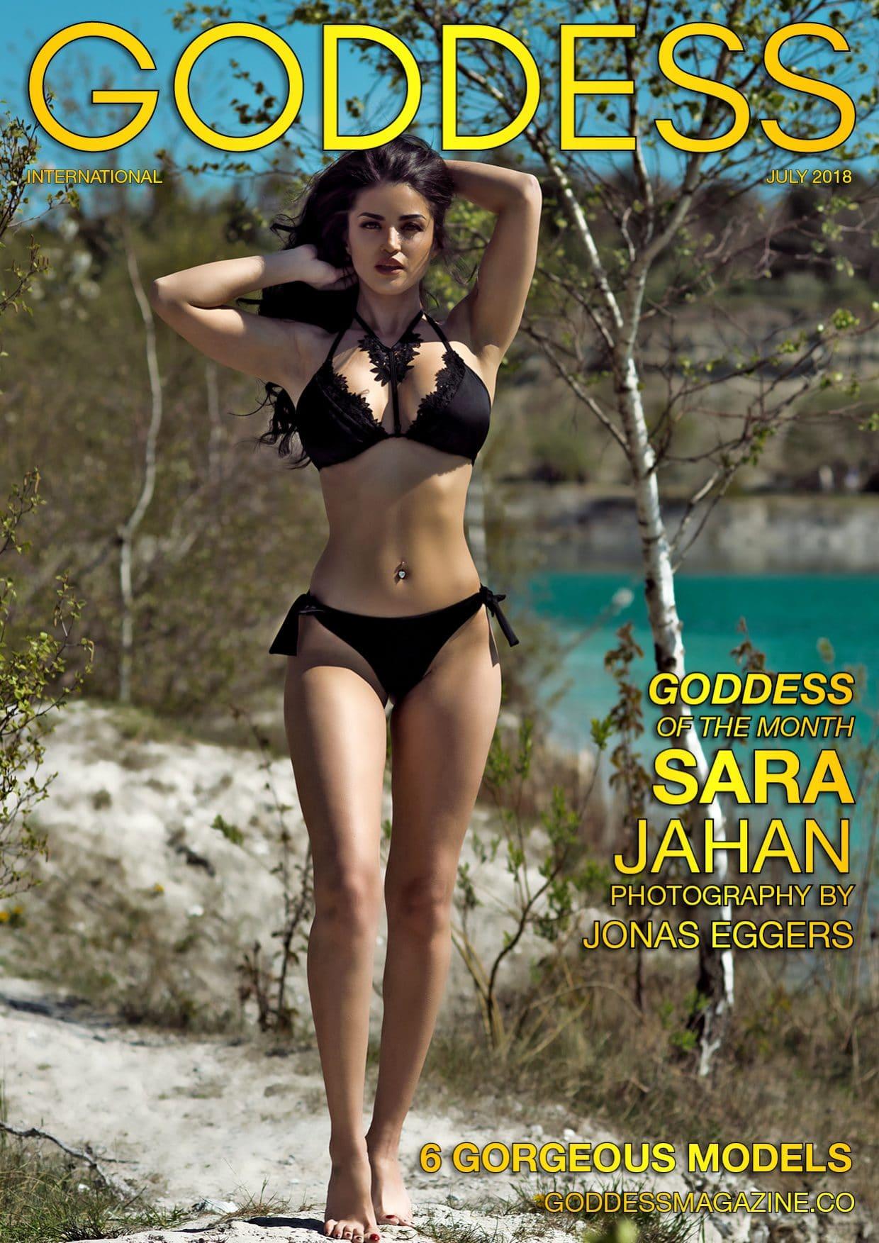 Goddess Magazine – July 2018 – Sara Jahan 1
