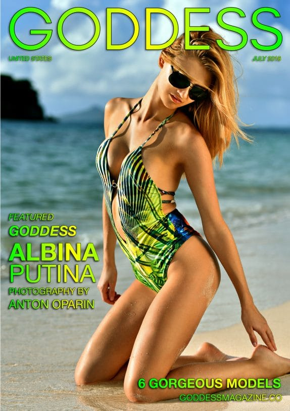 Goddess Magazine – July 2018 – Albina Putina 7