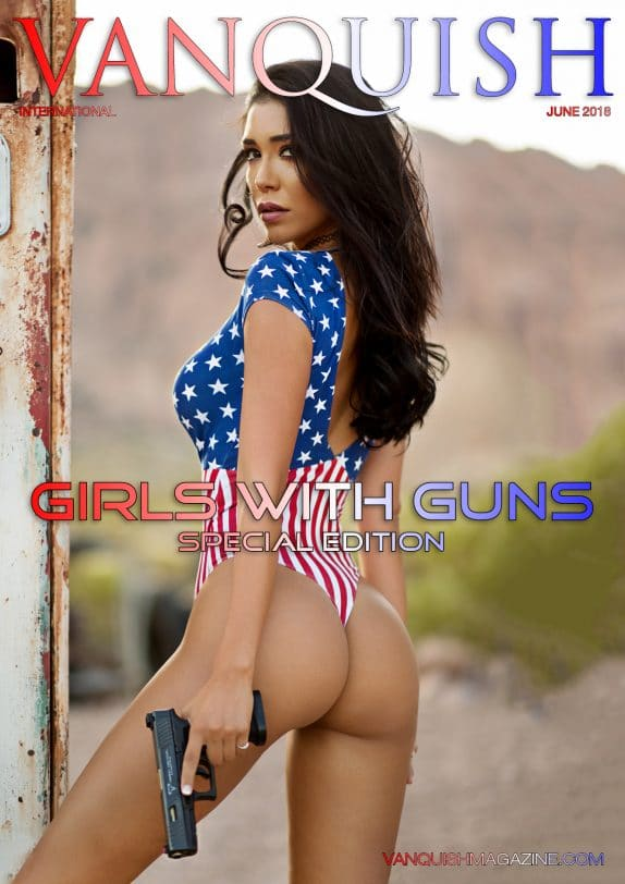 Vanquish Magazine - Girls with Guns - Lizzeth Acosta 1