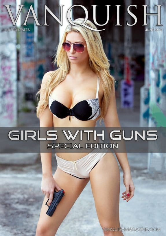 Vanquish Magazine - Girls with Guns - Holly Puska 1