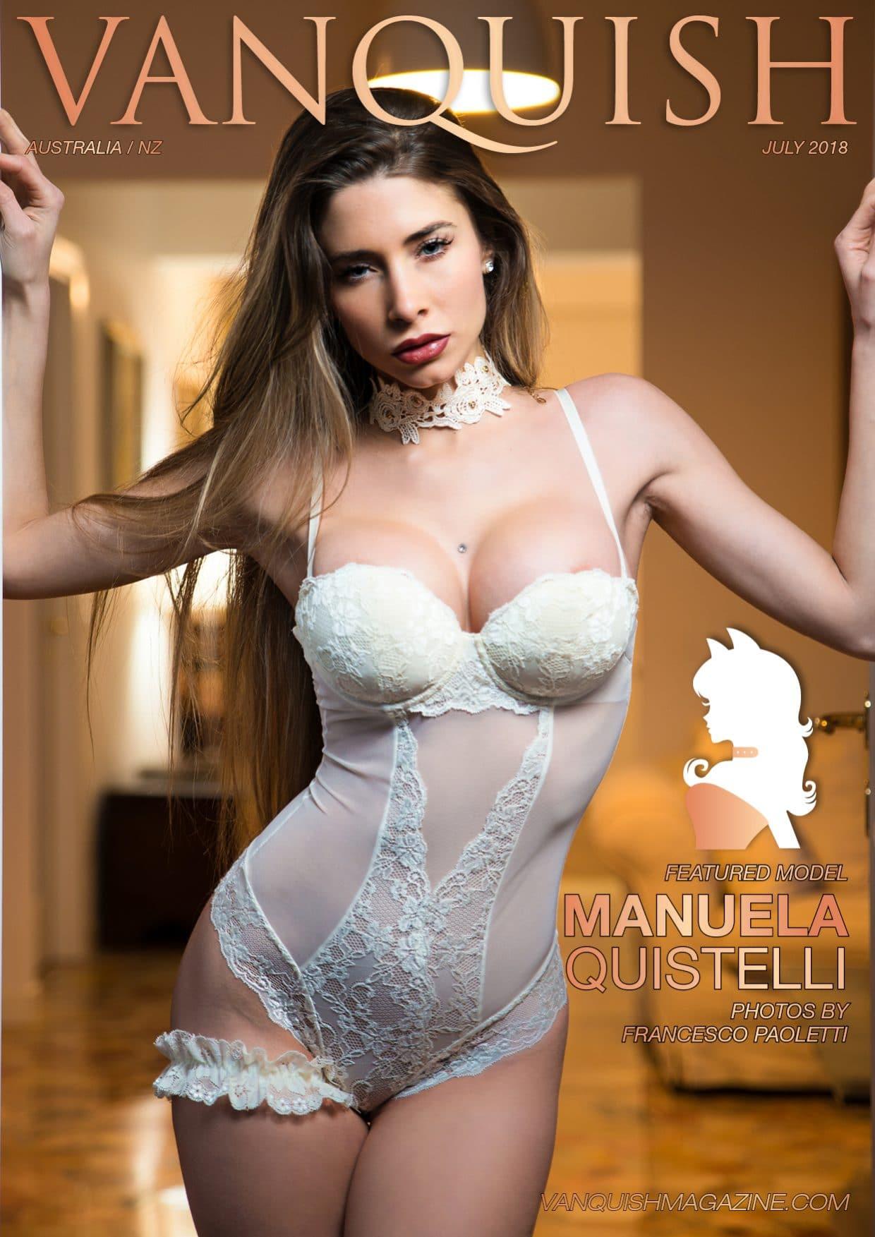 Vanquish Magazine - July 2018 - Manuela Quistelli 1