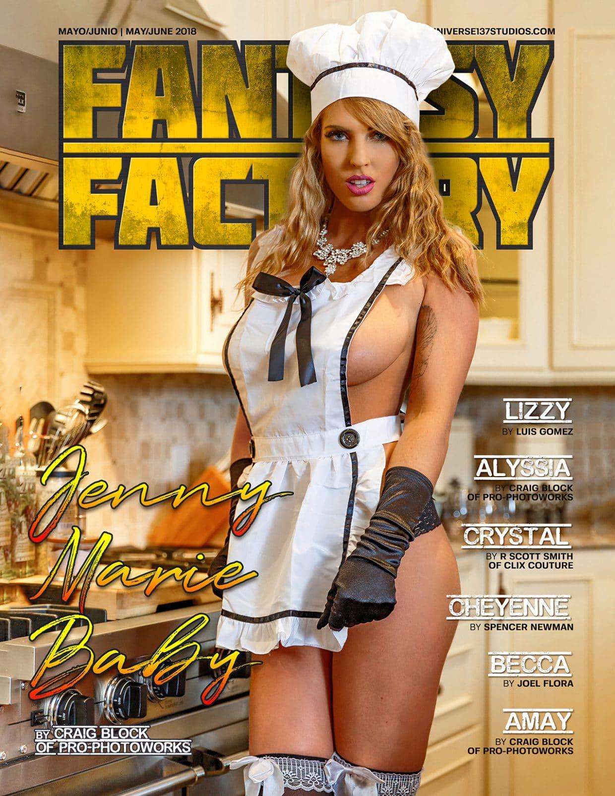 Fantasy Factory Magazine – May – June 2018