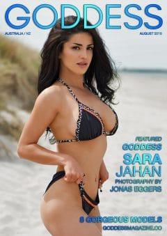 Goddess Magazine – August 2018 – Sara Jahan