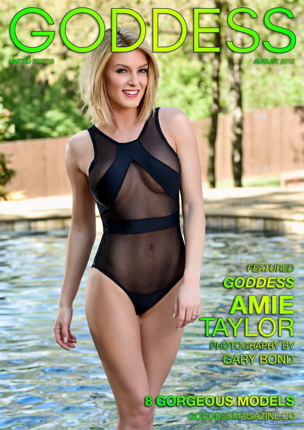 Goddess Magazine – August 2018 – Amie Taylor 1