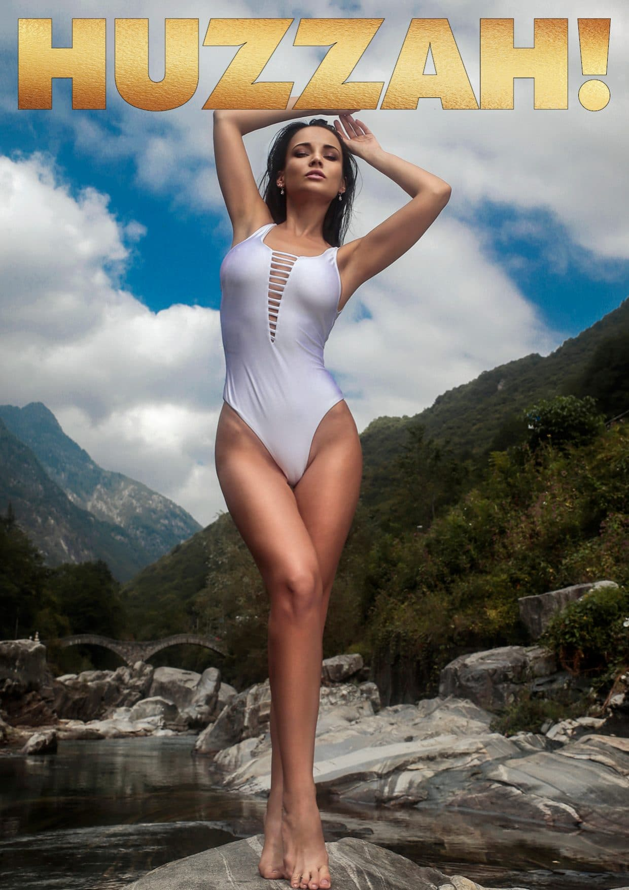 HUZZAH! Magazine - July 2018 - Angelina Petrova 1