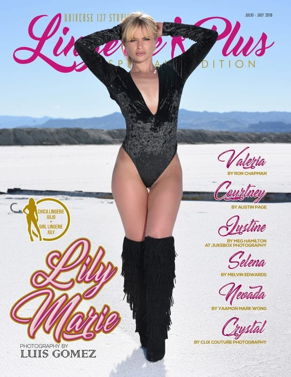 Lingerie Plus Magazine – July 2018