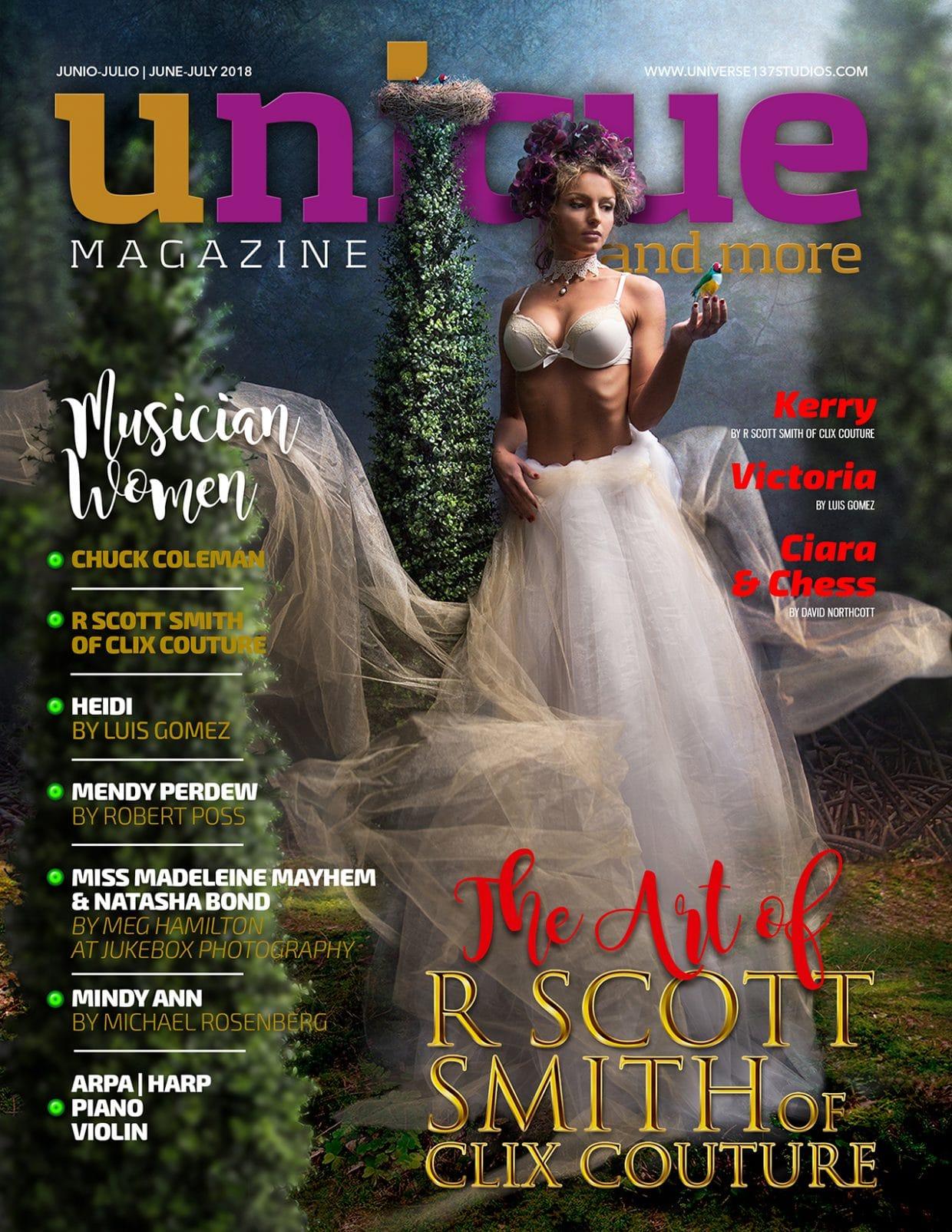 Unique Magazine - June - July 2018 1