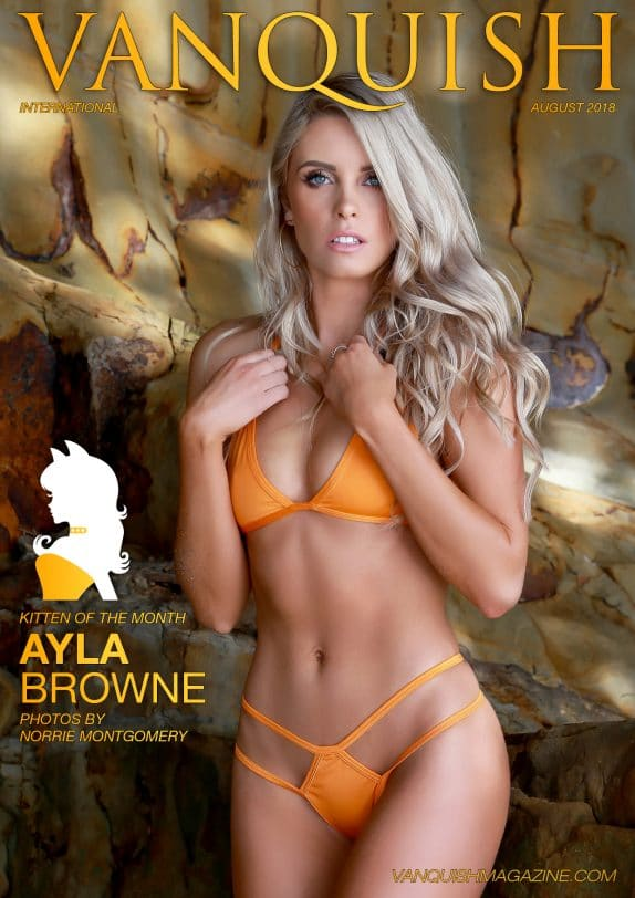 Vanquish Magazine - August 2018 - Ayla Browne 1