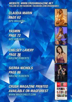 Crush Magazine – September 2018 – Sheridan Smith
