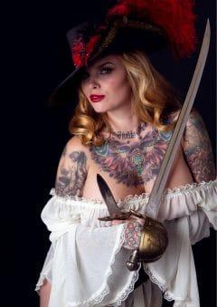 Vanquish Tattoo Magazine – March 2016 – Charise Jeanine