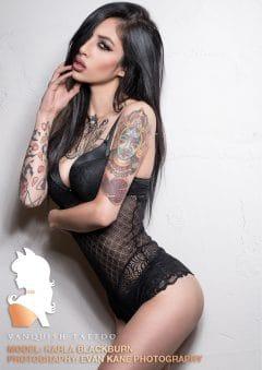 Vanquish Tattoo Magazine – March 2016 – Kristy Seguin – USA