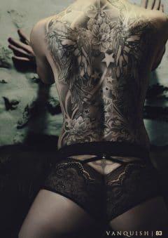 Vanquish Tattoo Magazine – March 2017 – Venus Starr