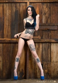 Vanquish Tattoo Magazine – September 2016 – Amber Marie – USA