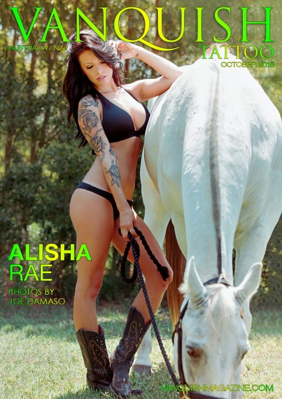 Vanquish Tattoo Magazine - October 2015 - Alisha Rae 3