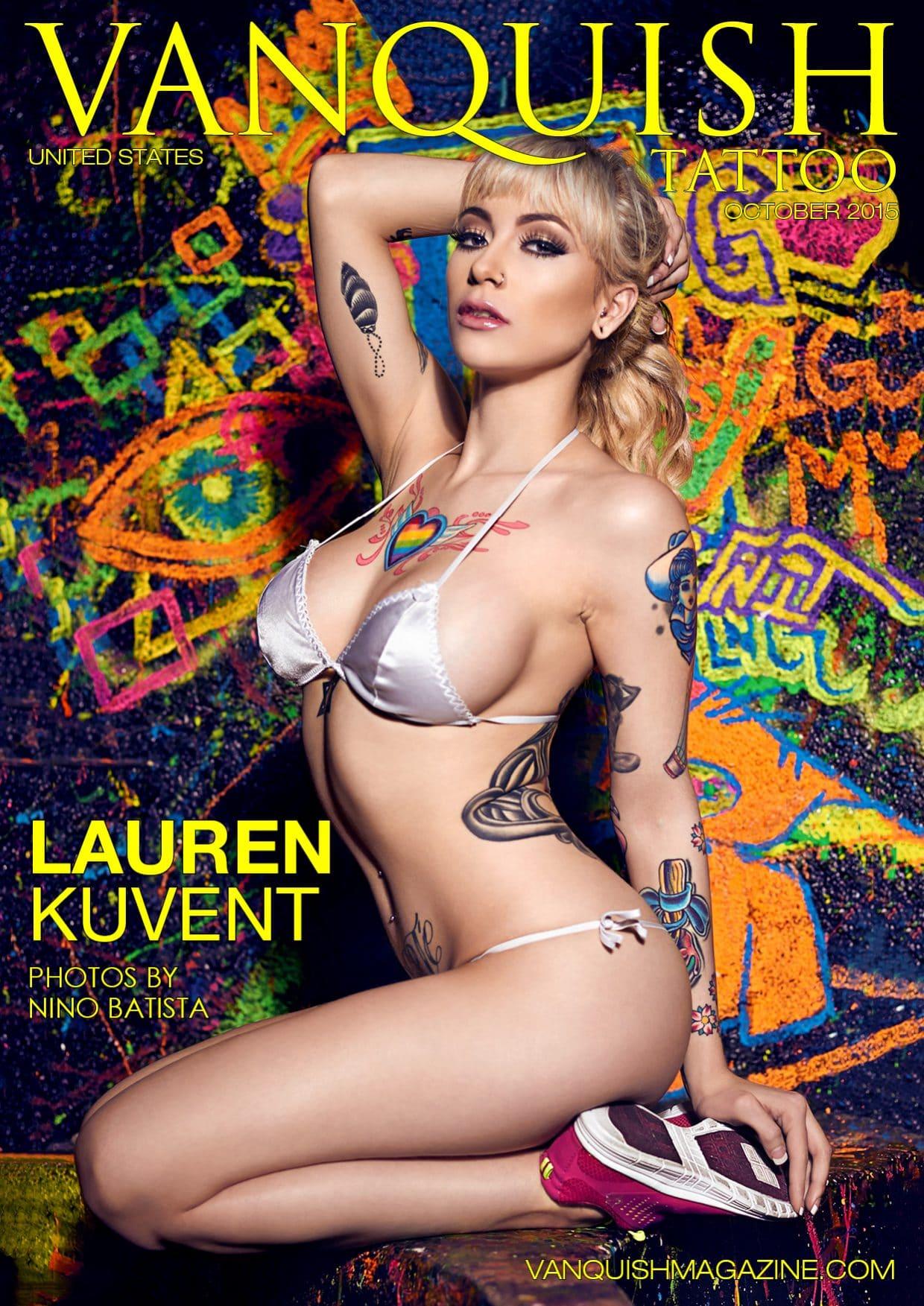 Vanquish Tattoo Magazine - October 2015 - Lauren Kuvent 1