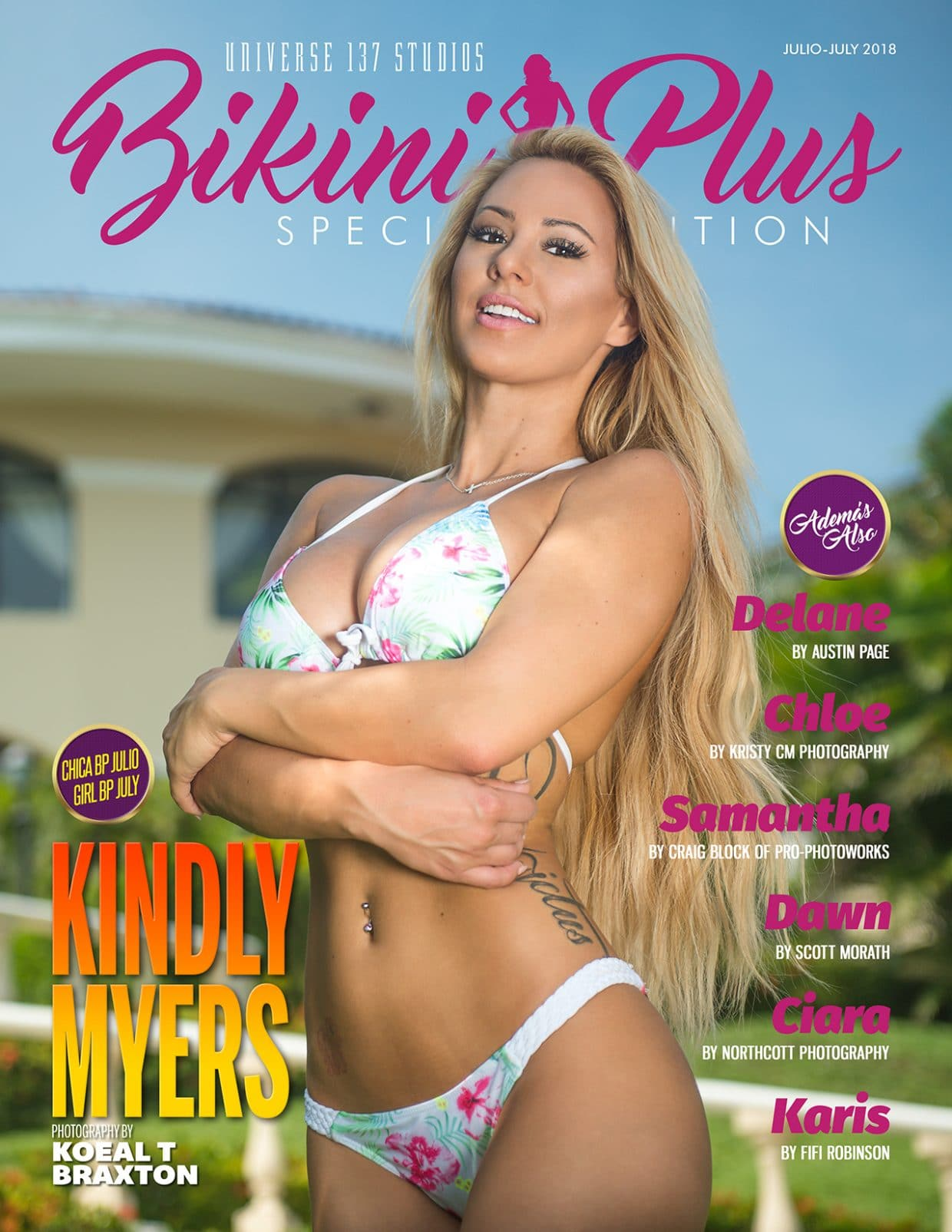 Bikini Plus Magazine - July 2018 1