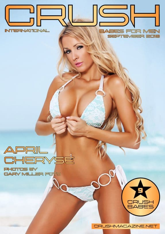 Crush Magazine - September 2018 - April Cheryse 1