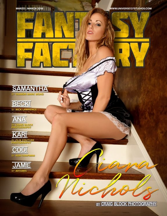 Fantasy Factory Magazine - March 2018 1