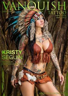 Vanquish Tattoo Magazine - March 2016 - Kristy Seguin 8