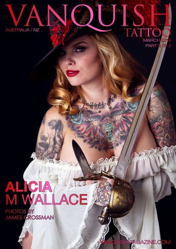 Vanquish Tattoo Magazine - March 2016 - Alicia M Wallace 6