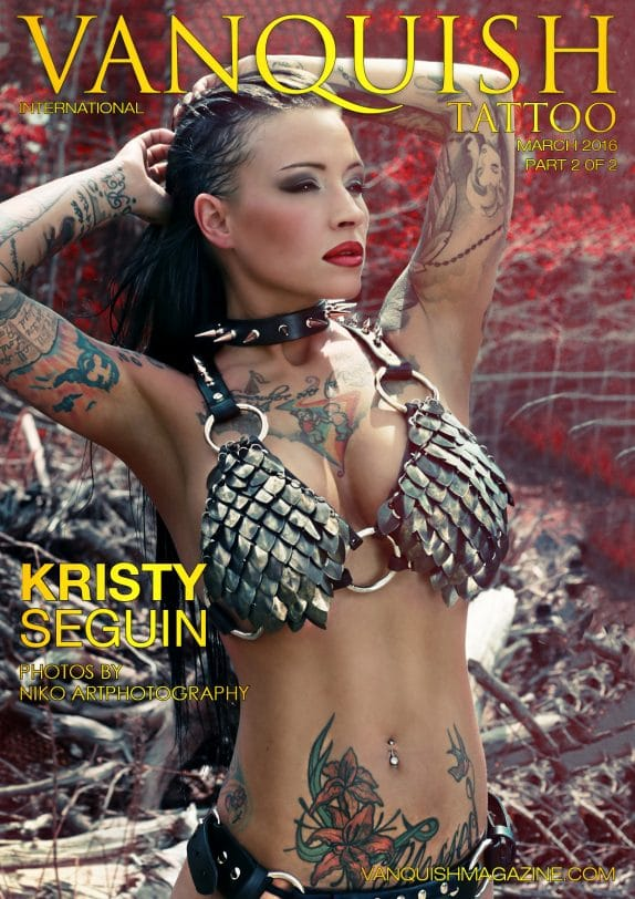Vanquish Tattoo Magazine - March 2016 - Kristy Seguin 10
