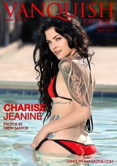 Vanquish Tattoo Magazine – March 2016 – Charise Jeanine