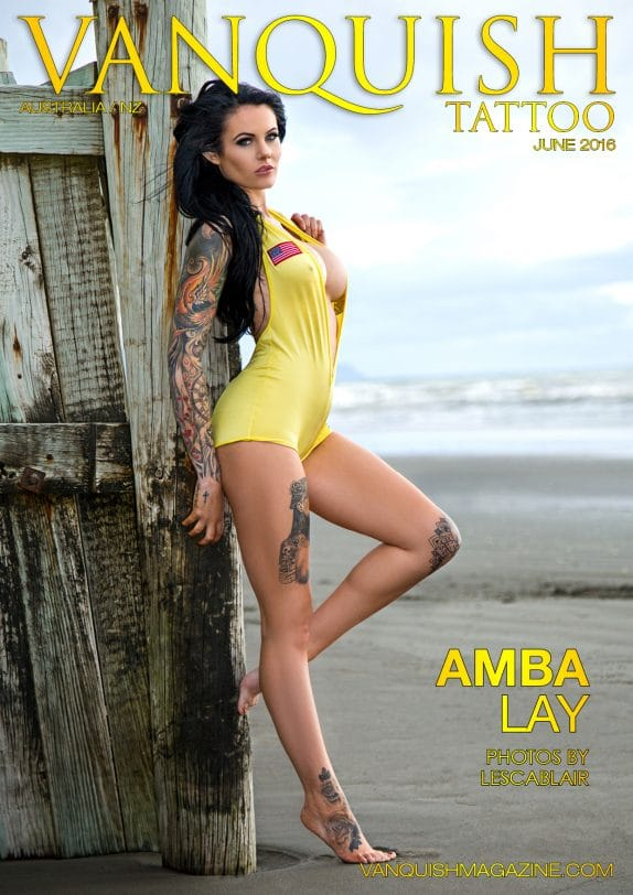 Vanquish Tattoo Magazine - June 2016 - Amba Lay 1
