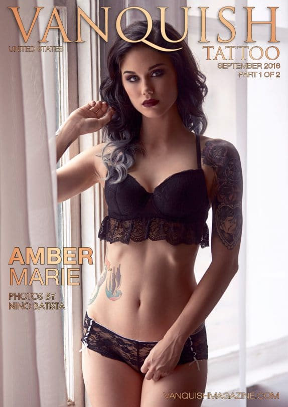 Vanquish Tattoo Magazine – September 2016 – Amber Marie