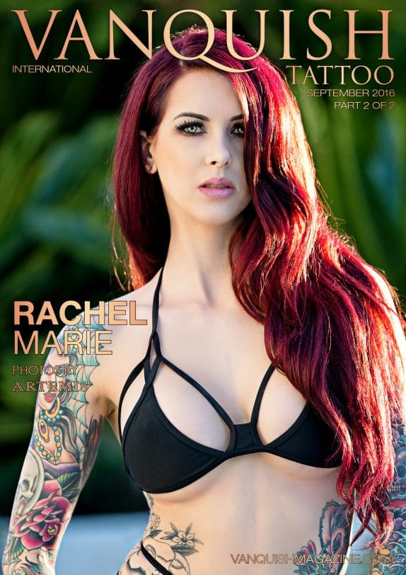 Vanquish Tattoo Magazine - September 2016 - Rachel Marie 1