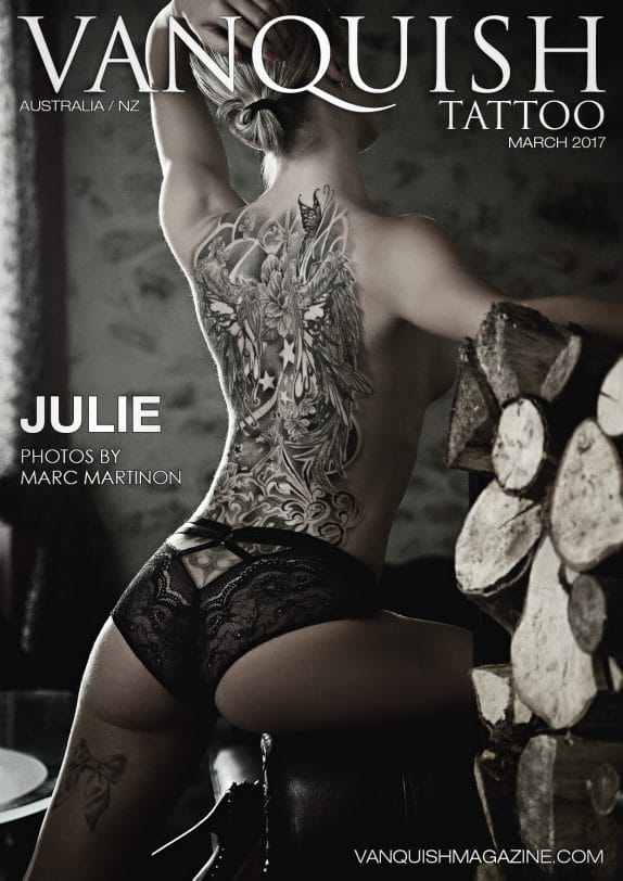Vanquish Tattoo Magazine - March 2017 - Julie 10