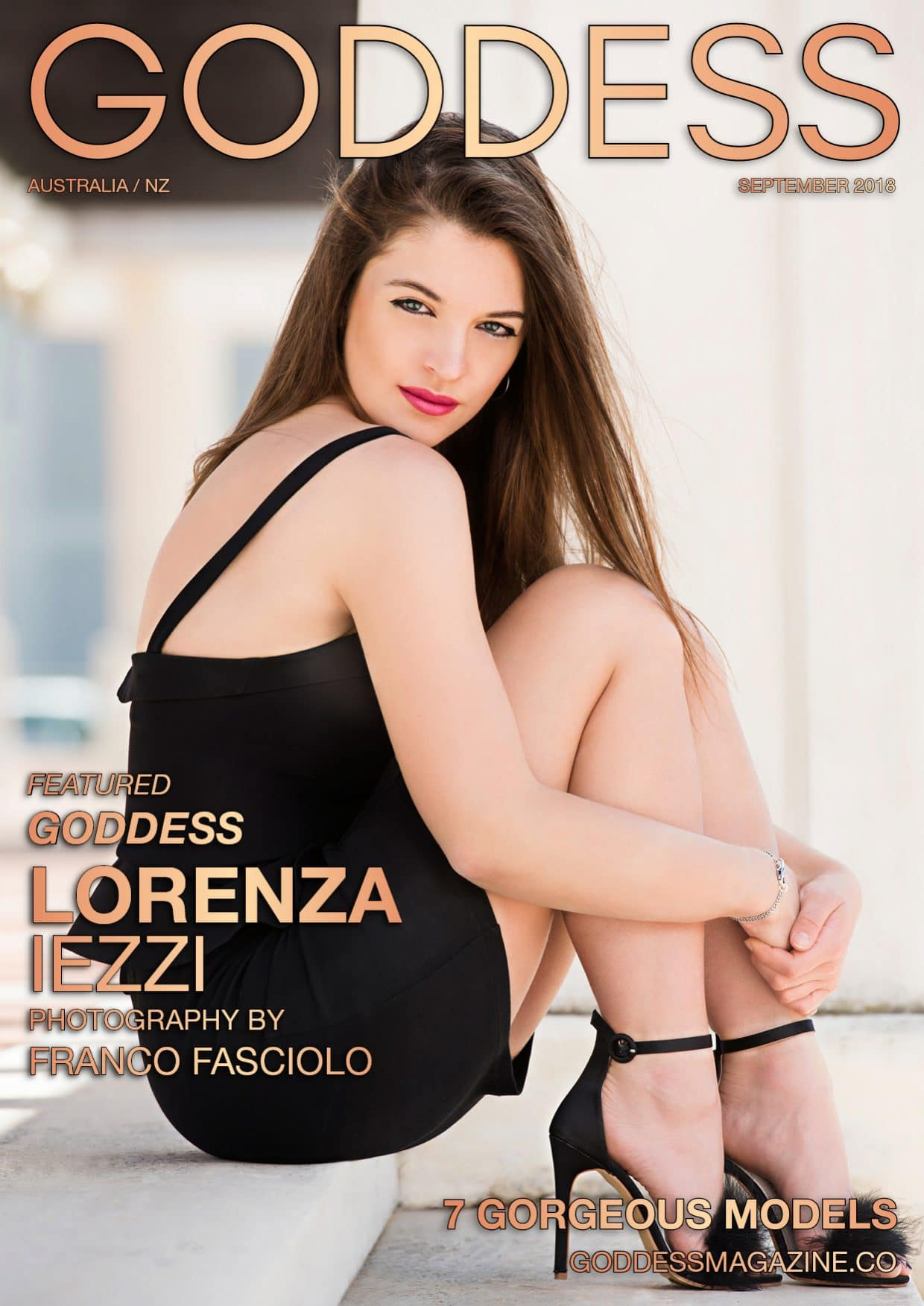 Goddess Magazine – September 2018 – Lorenza Iezzi