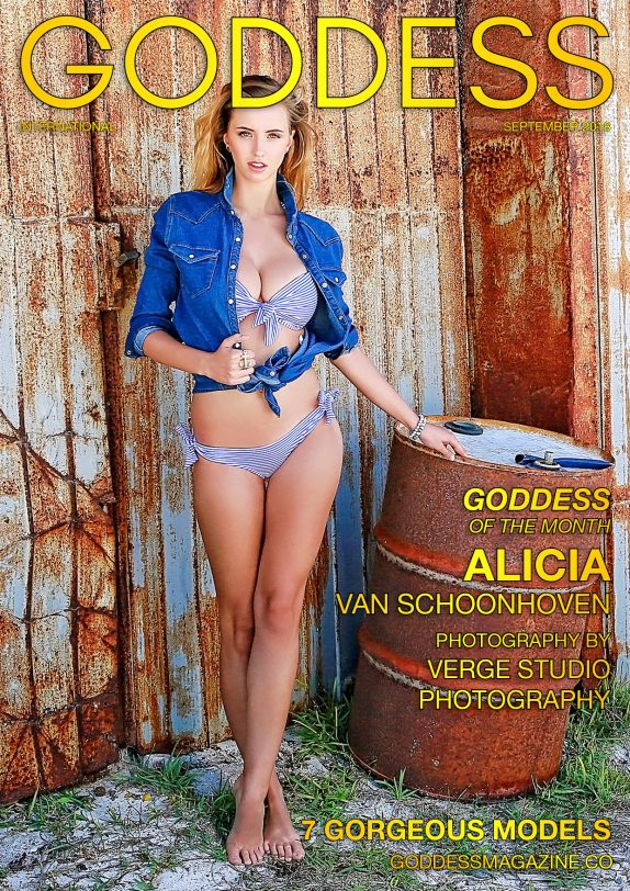 Goddess Magazine – September 2018 – Alicia Van Schoonhoven 1