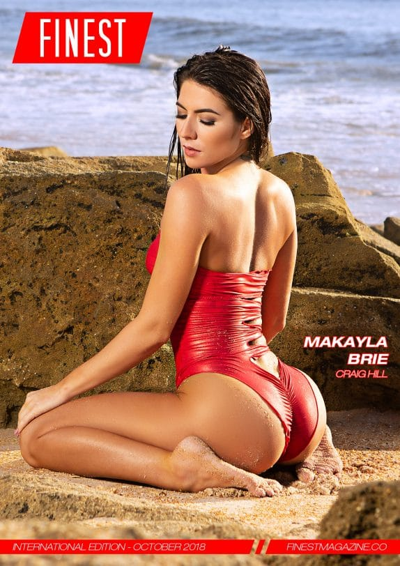 Finest Magazine – October 2018 – Makayla Brie