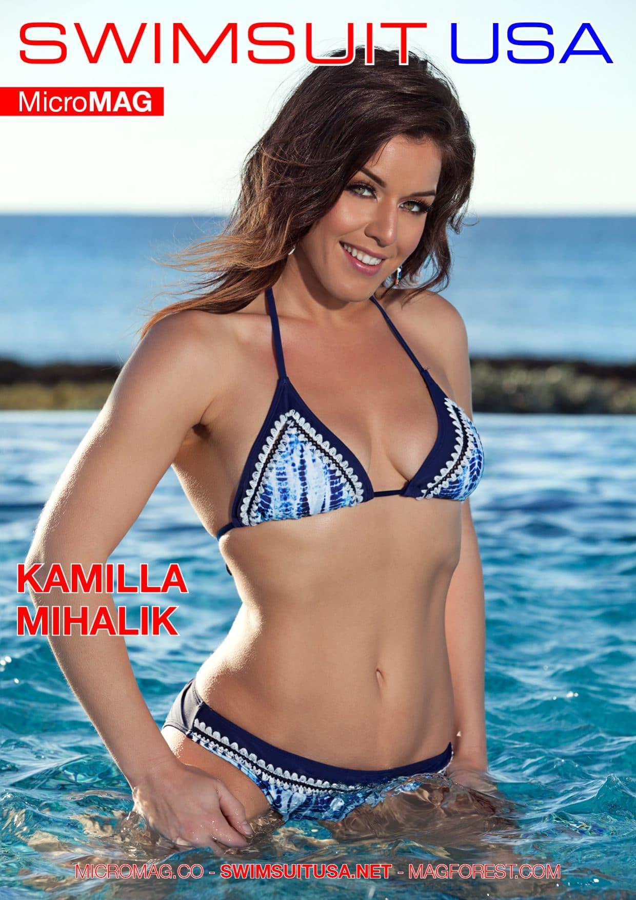 Swimsuit Usa Micromag – Kamilla Mihalik