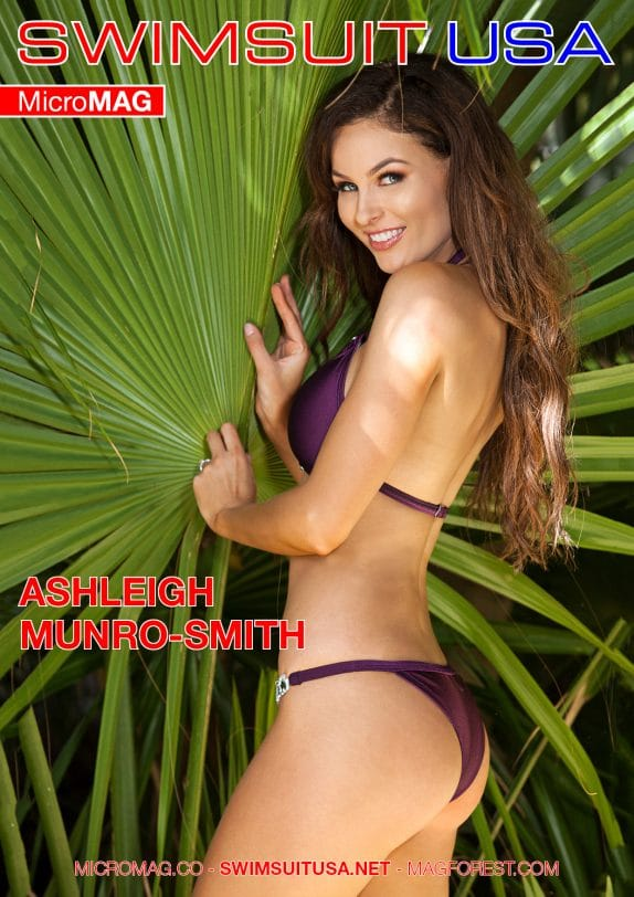 Swimsuit Usa Micromag – Ashleigh Munro-smith