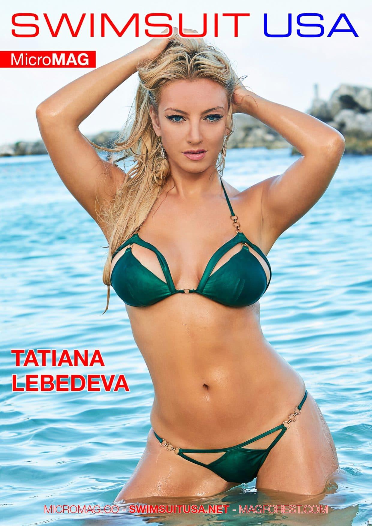 Swimsuit USA MicroMAG - Tatiana Lebedeva 1