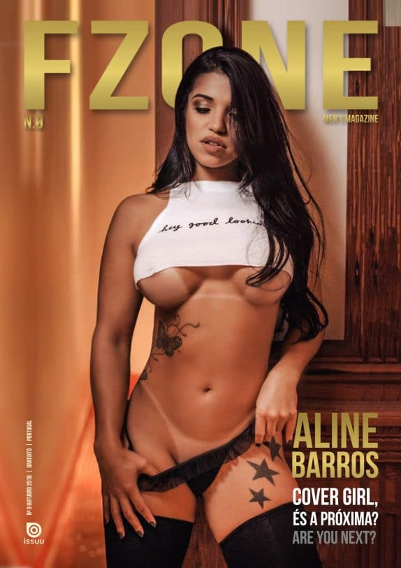 FZone Men´s Magazine - October 2018 - Aline Barros 1