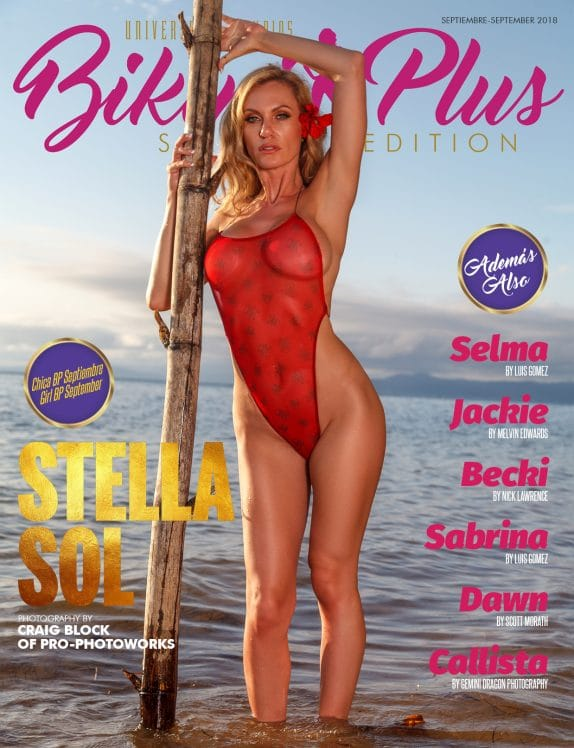 Bikini Plus Magazine - September 2018 1
