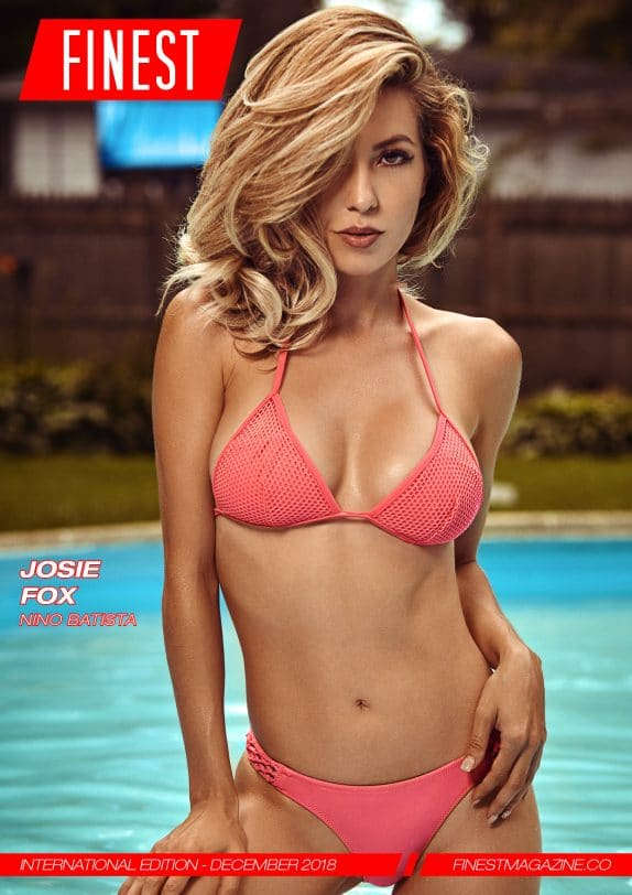 Finest Magazine – December 2018 – Josie Fox 1