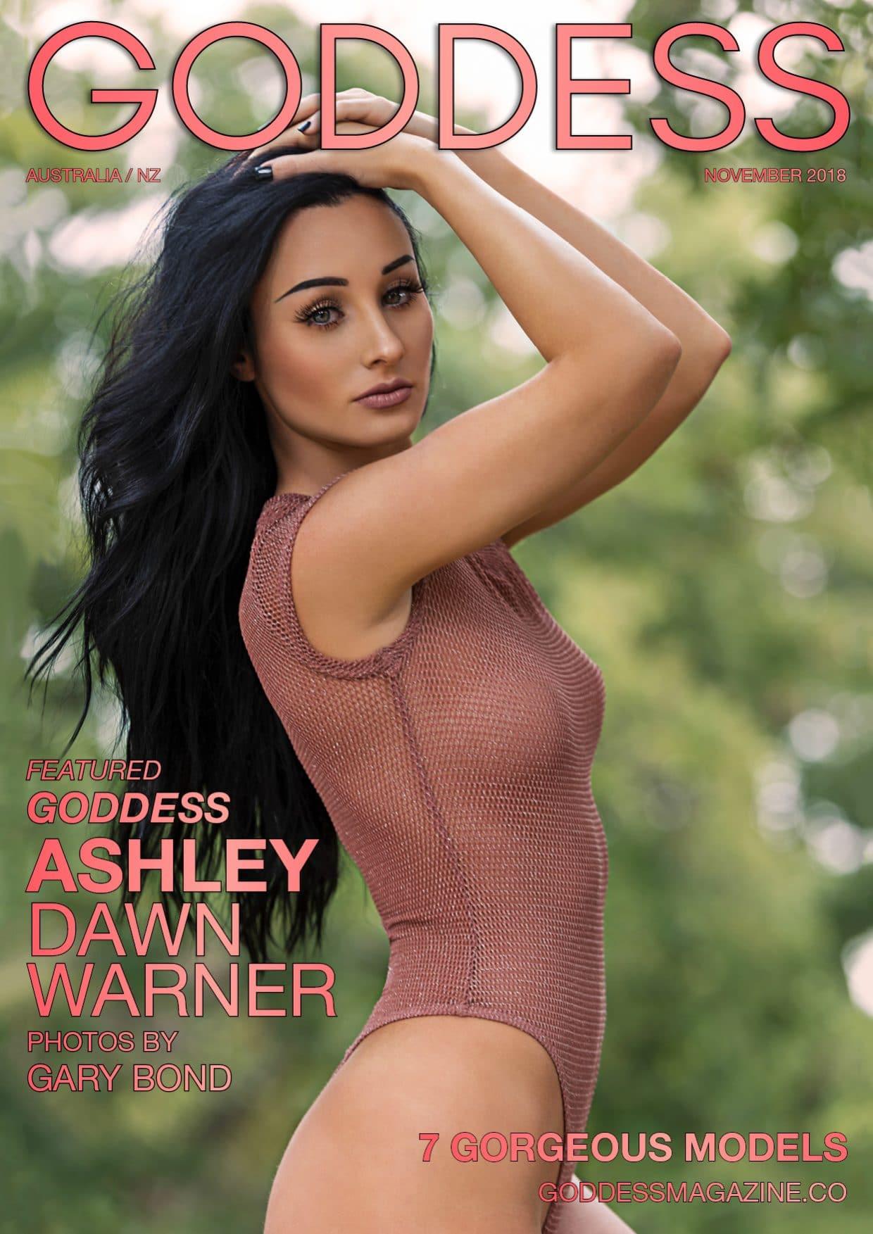 Goddess Magazine – November 2018 – Ashley Dawn Warner 1