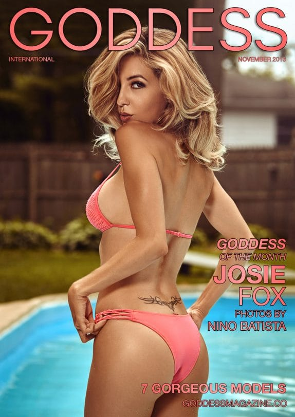 Goddess Magazine – November 2018 – Josie Fox 1